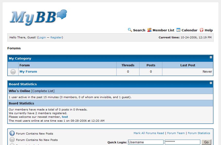 Хостинг mybb как выбрать хостинг под wordpress